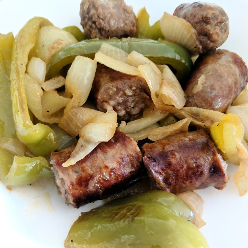 Sausage, Peppers, andOnion