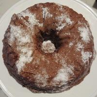 Keto Chocolate Root Beer Bundt Cake