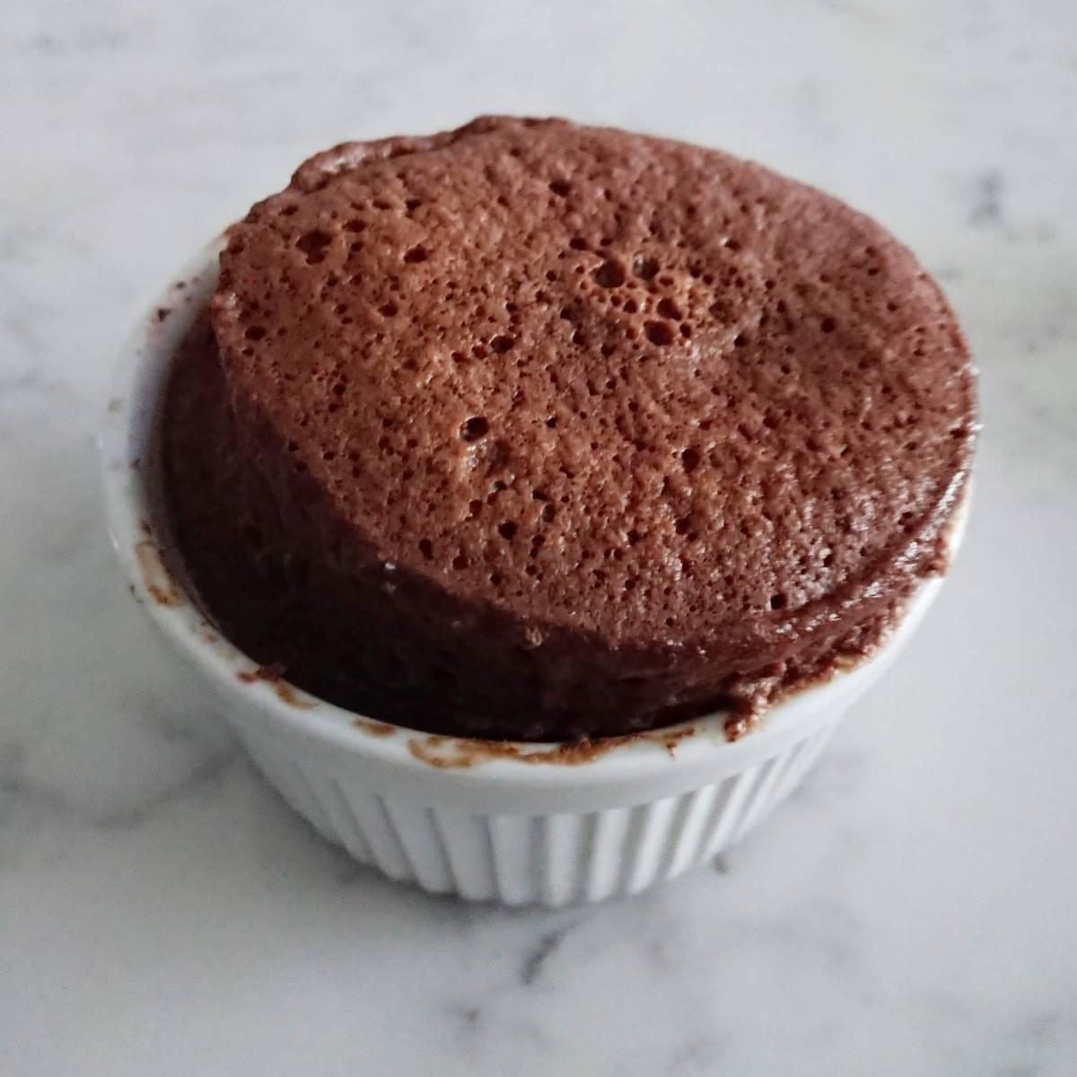 Keto Mocha Mug Cake - 4 Net Carbs